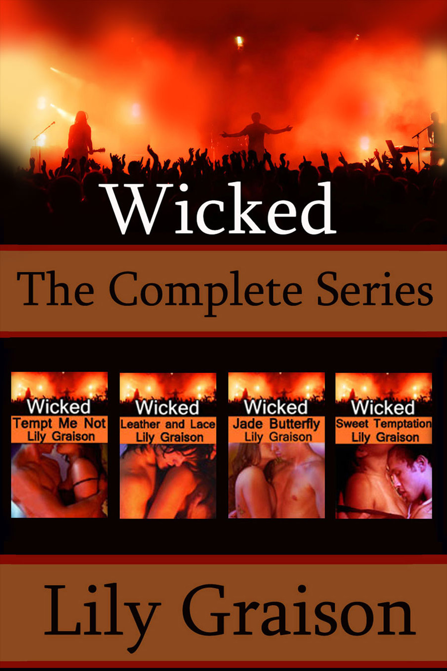 wicked the complete series by lily graison rock star. Black Bedroom Furniture Sets. Home Design Ideas