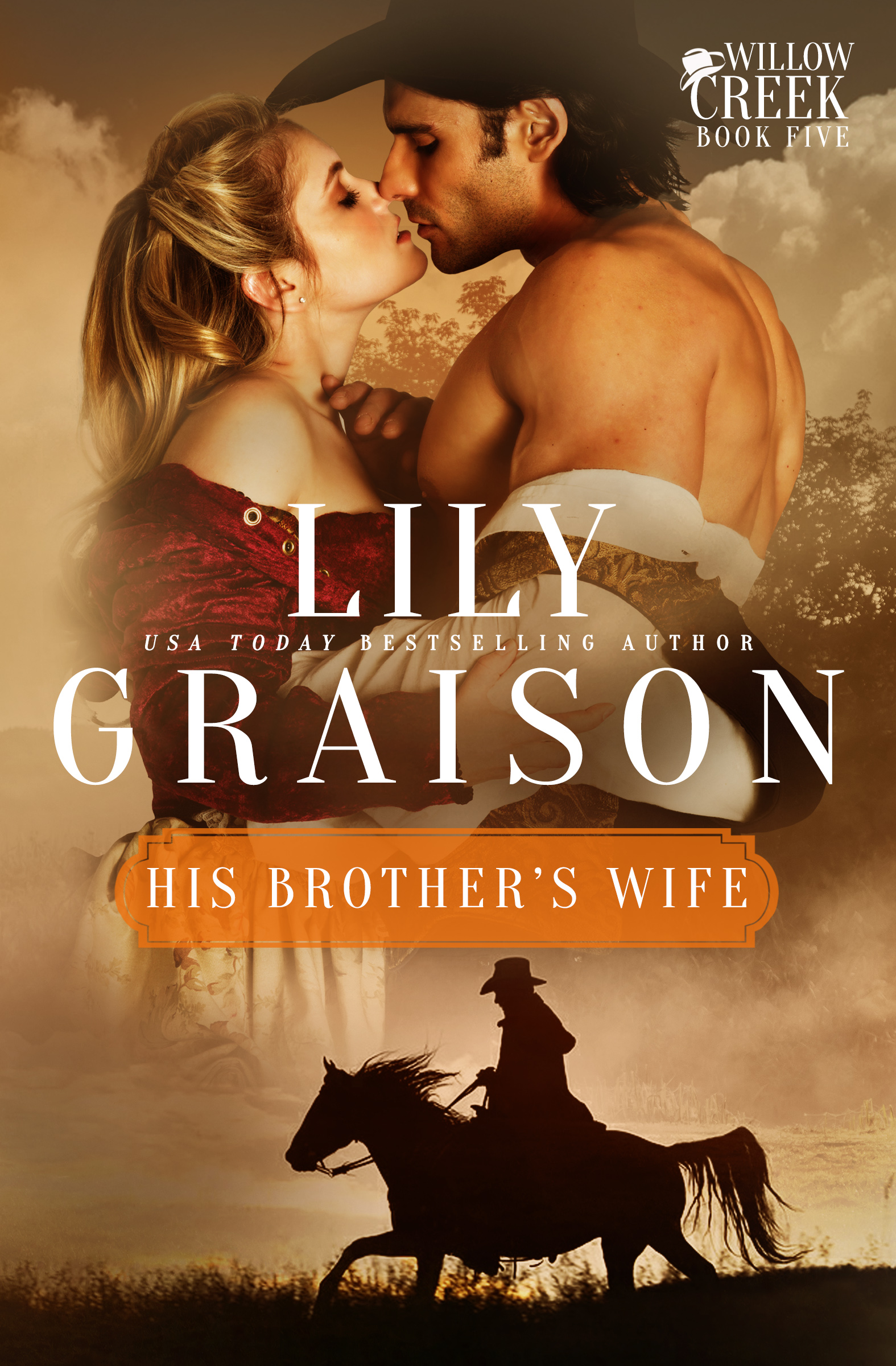His Brother's Wife by Lily Graison - Historical Western Romance